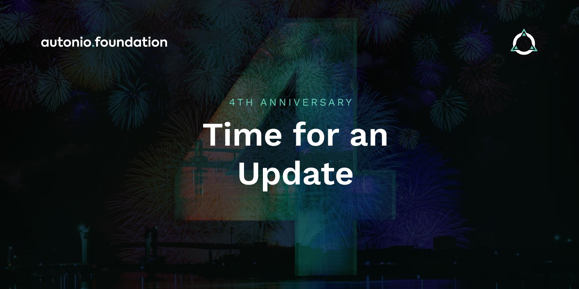 Autonios Anniversary Month