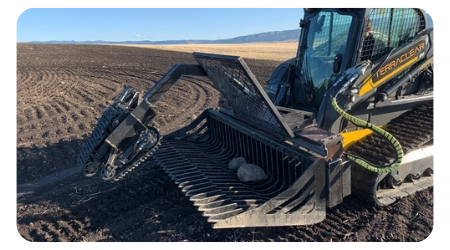 Precision Rock Picker Implement - TerraClear