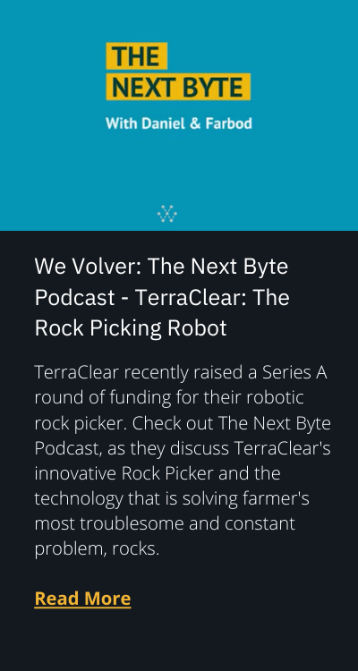 TerraClear featured on We Volver: The Next Byte Podcast