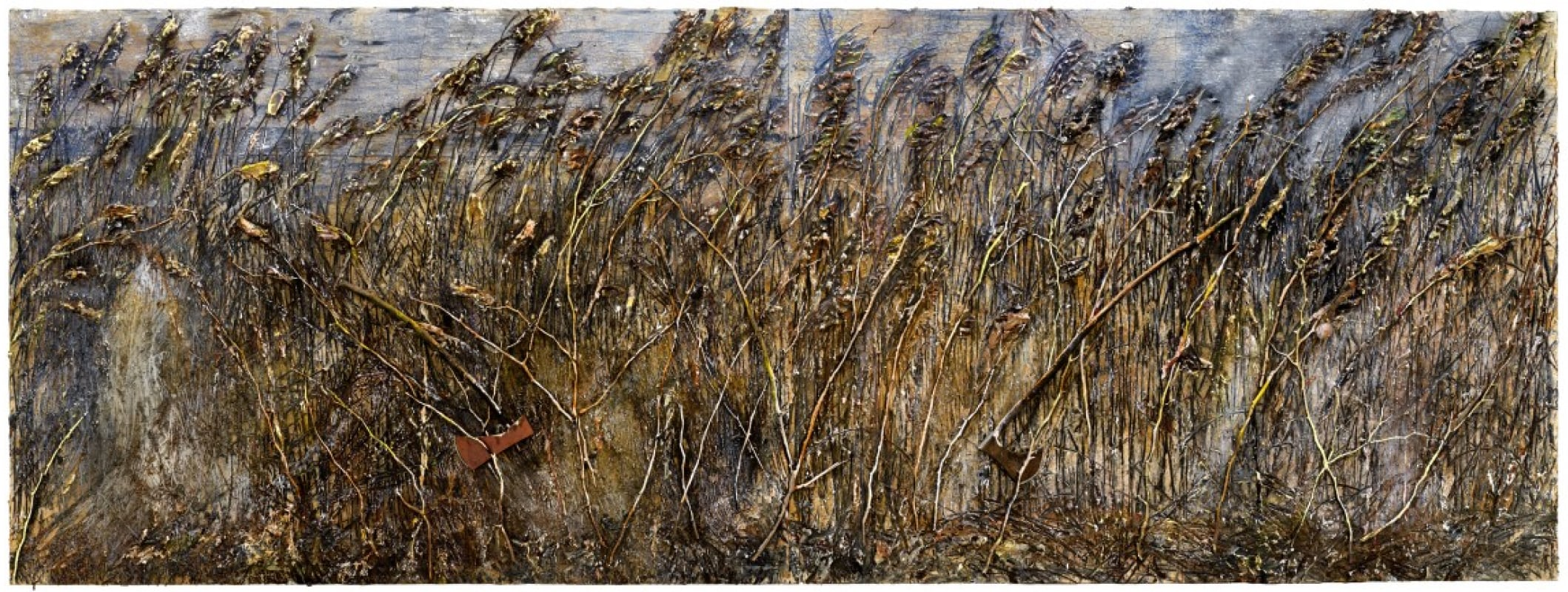 Anselm Kiefer — Right Wing, Left Wing, 2019