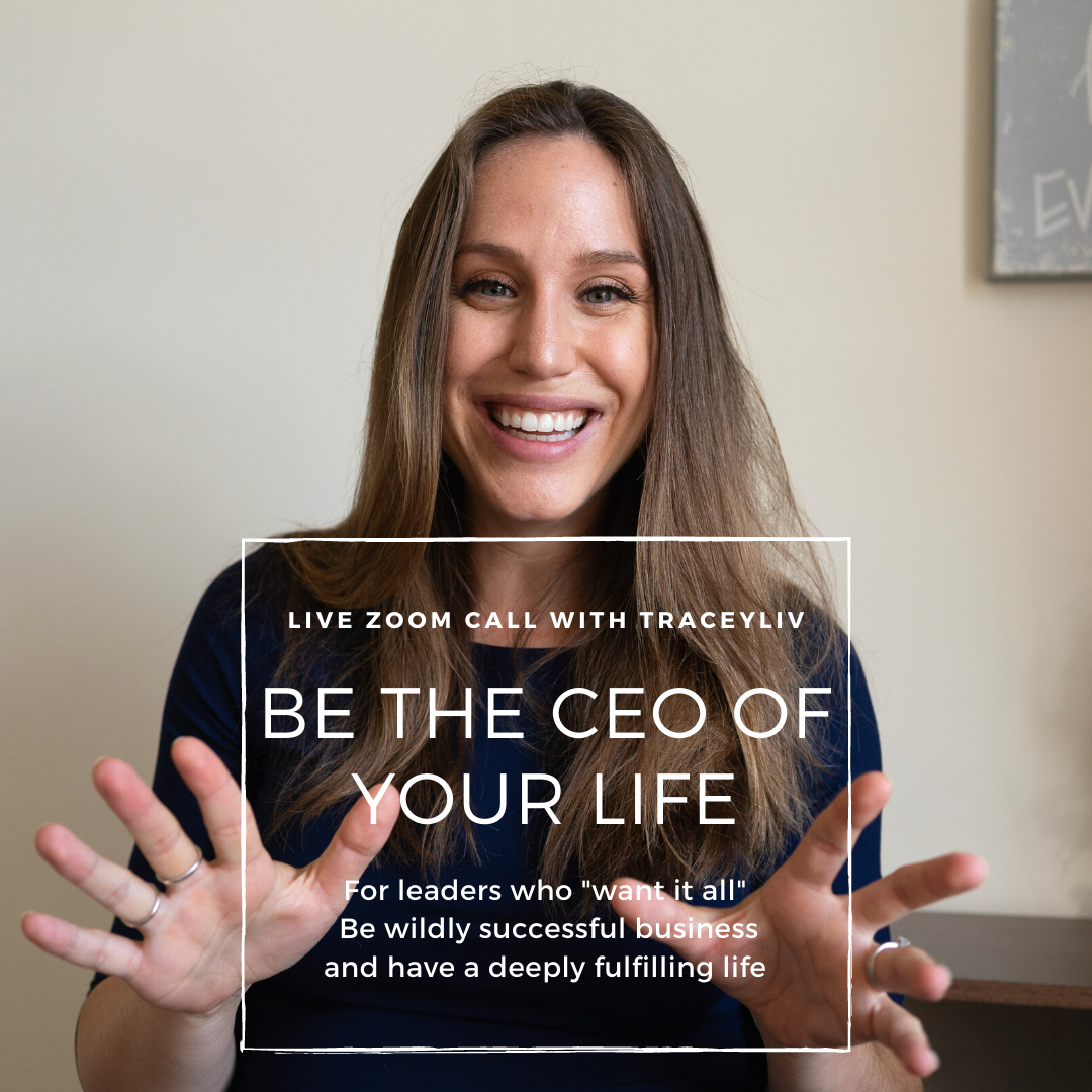 How to Be the CEO of Your Life.