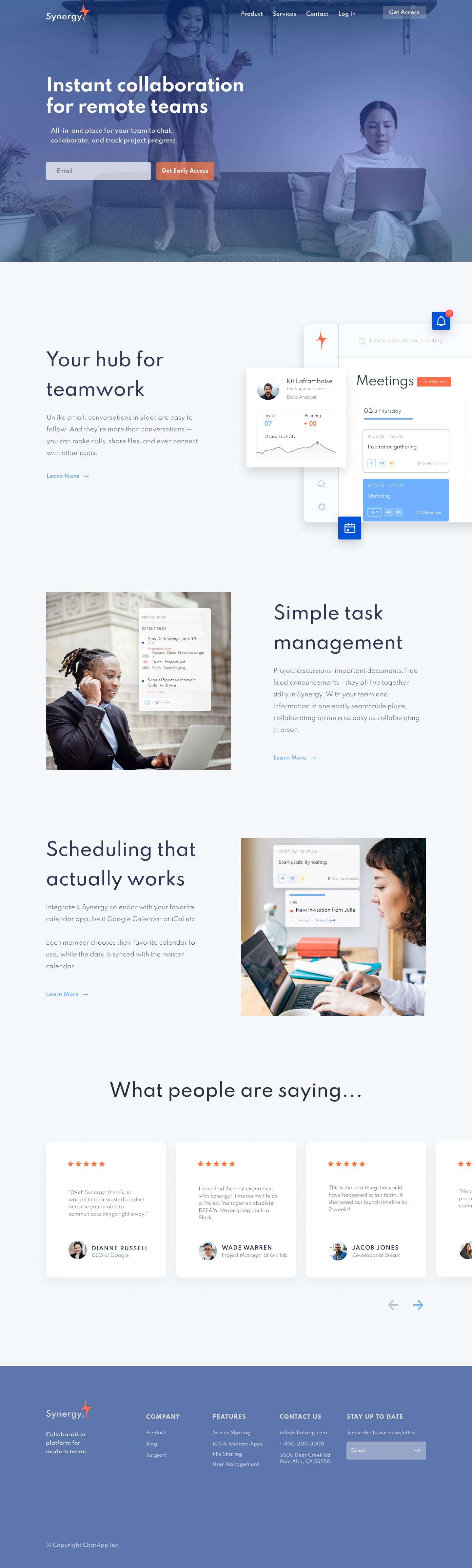 Website design & brand strategy