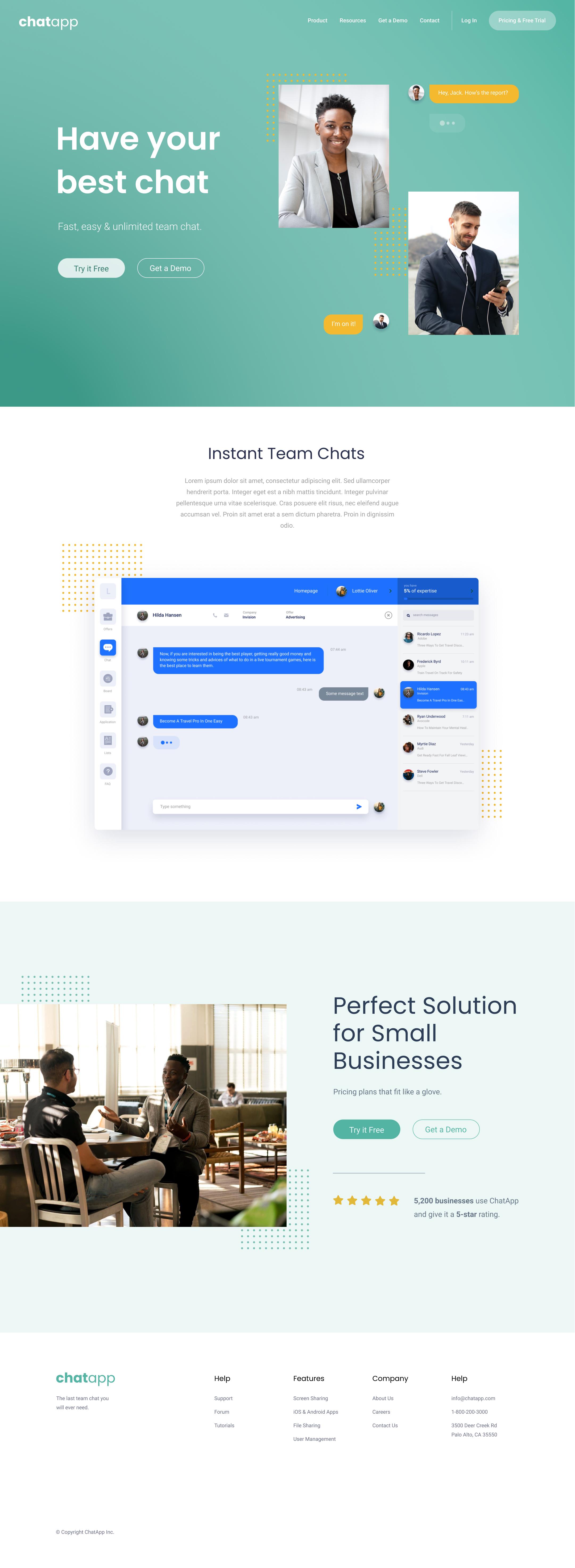 Landing Page Design & Build
