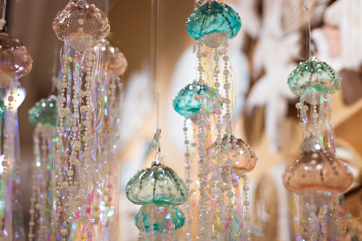 From under the Sea, Holiday Jelly Fish Ornaments