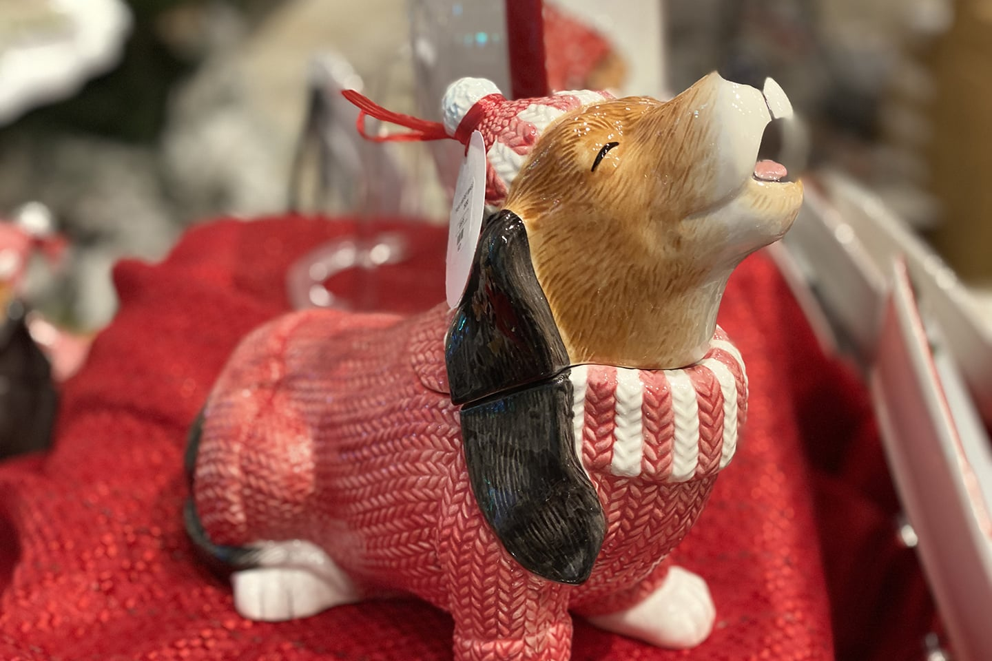 Dog Gone Cute - Puppy Christmas Ornament