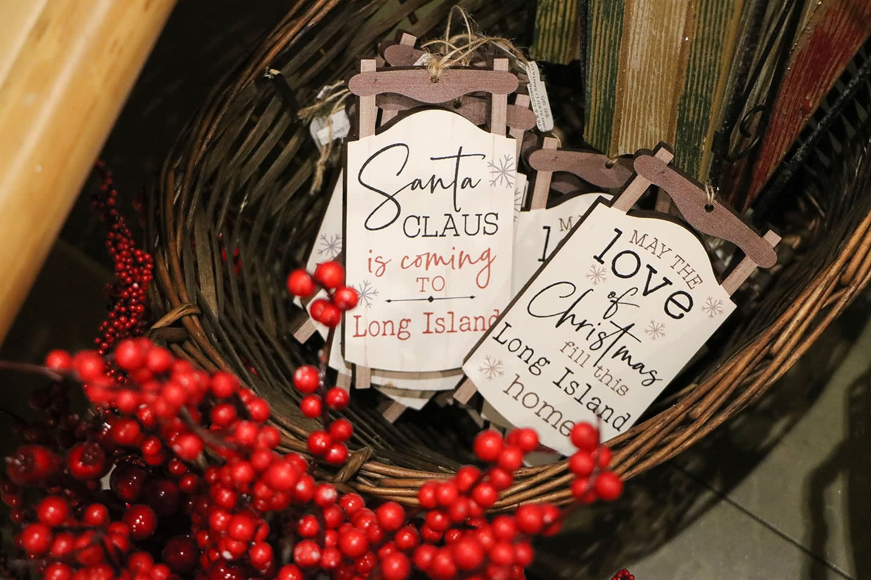 Love Long Island Sleigh Ornaments