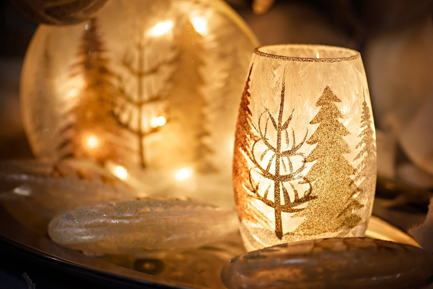 Everything is so Magical with Holidays Lights and Candles