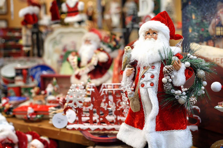 Santa's North Pole on Long Island with magical Holiday decor