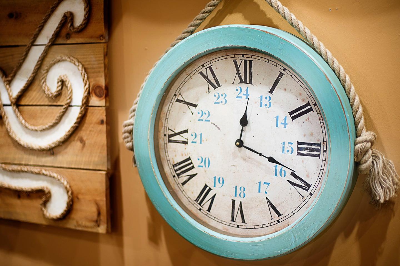Ocean Inspired Wall Clock