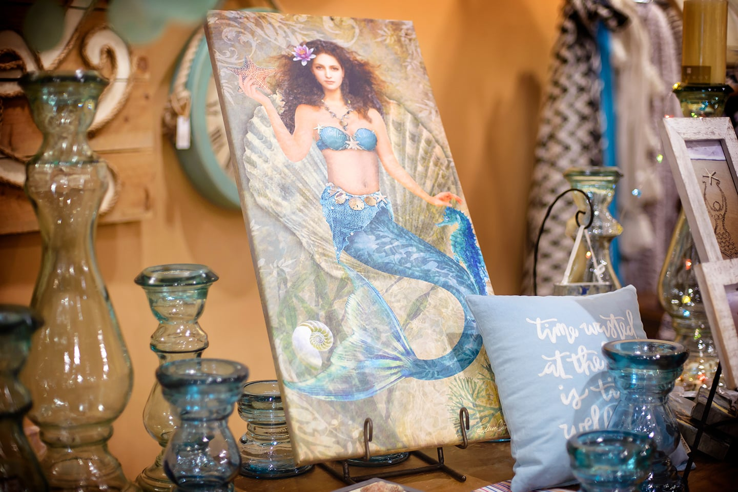 Magical Mermaids Wall Art and Home Decor