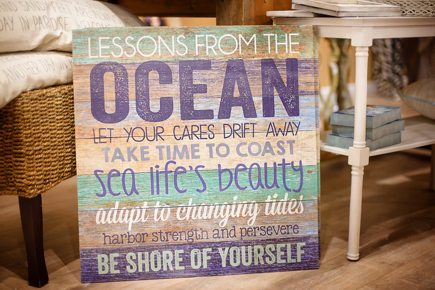 Lessons from the Ocean Sayings