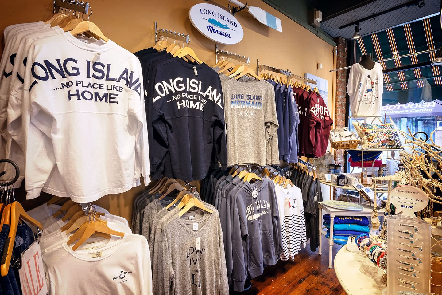 Jerseys and Shirts from the Long Island Memories Collection