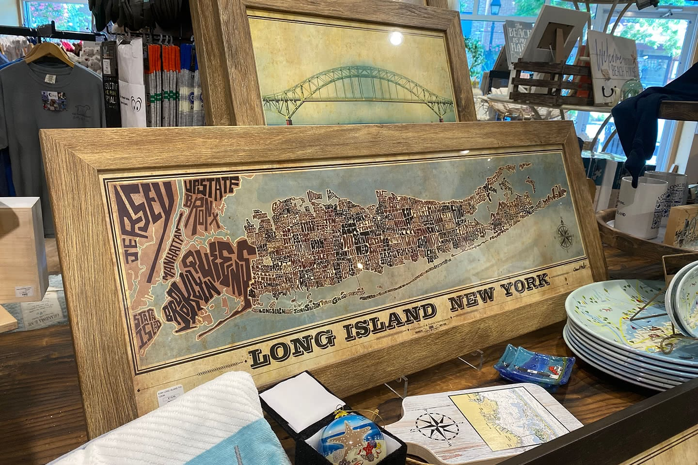 Long Island New York Framed Picture (Home Decor)