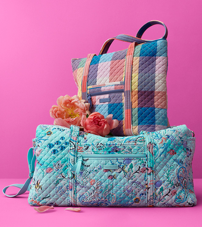 Authorized Retailer for Vera Bradley, Quilted Backpacks, Duffels, Bags, Handbags and More for women