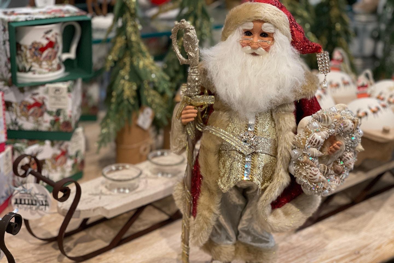 Ol' World Traditional Santa Claus Christmas Figurine