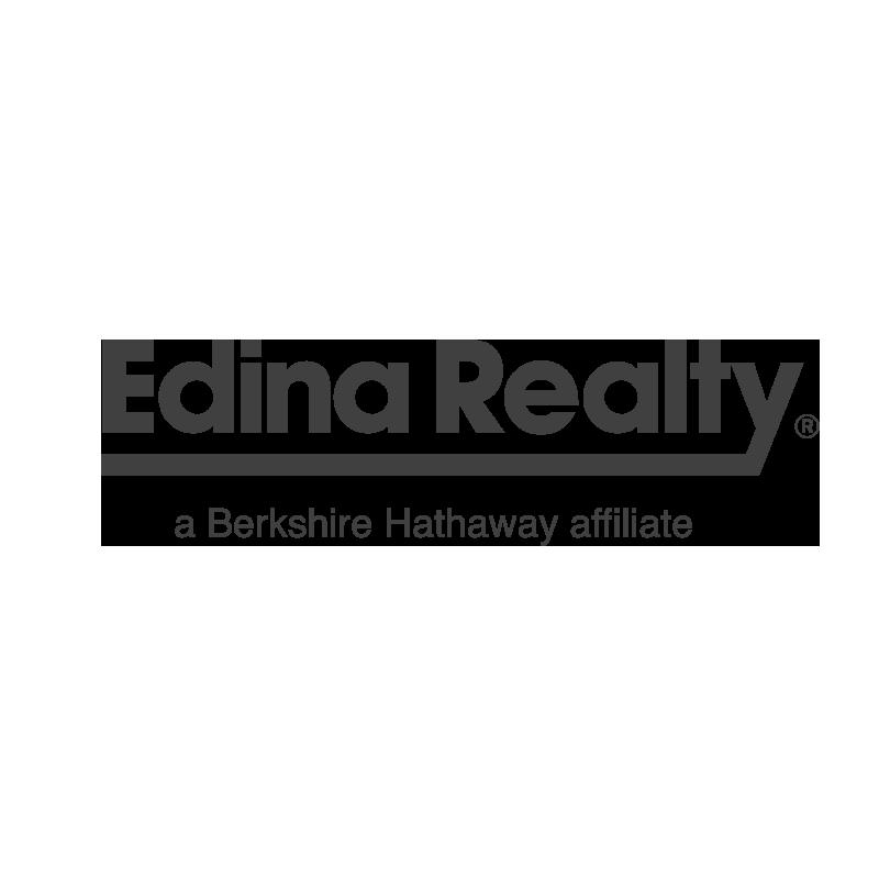 Edina Realty logo grayscale