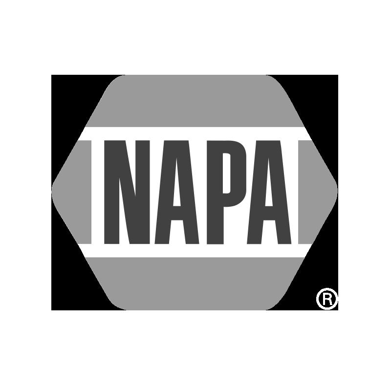 NAPA Auto Parts logo grayscale