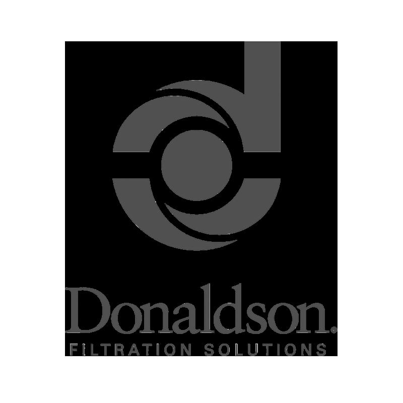 Donaldson logo grayscale