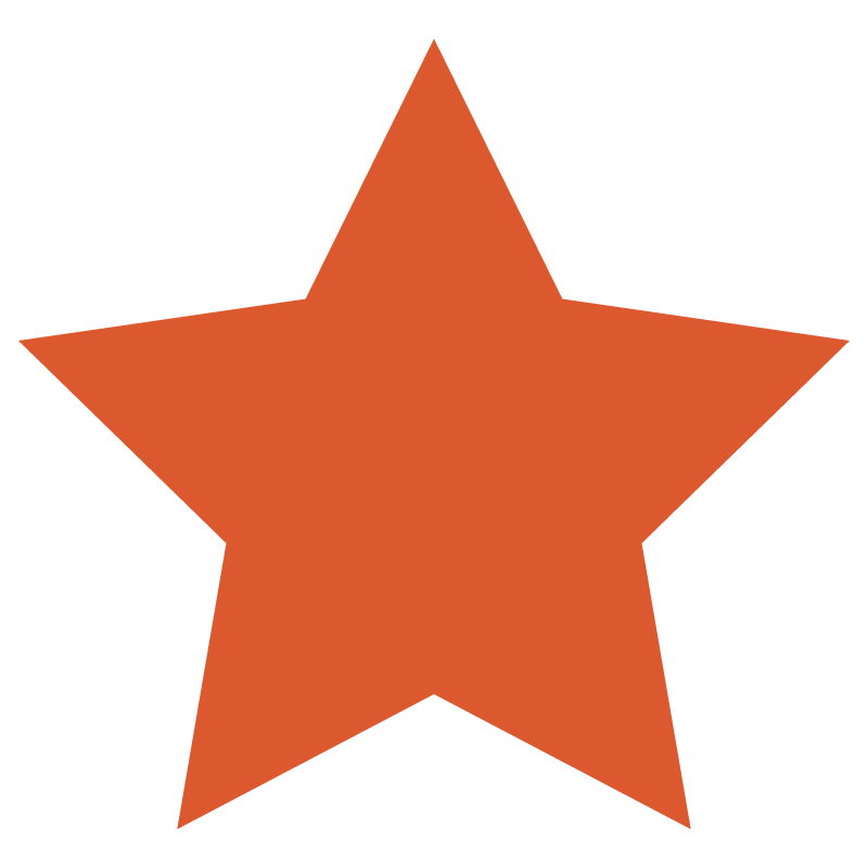 """Star"" icon foxtrot colors"