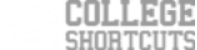 College Shortcut Logo