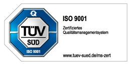 Kurz und Klein TÜV Zertifikat