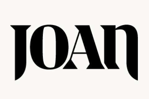 Logo for our sponsor: Joan