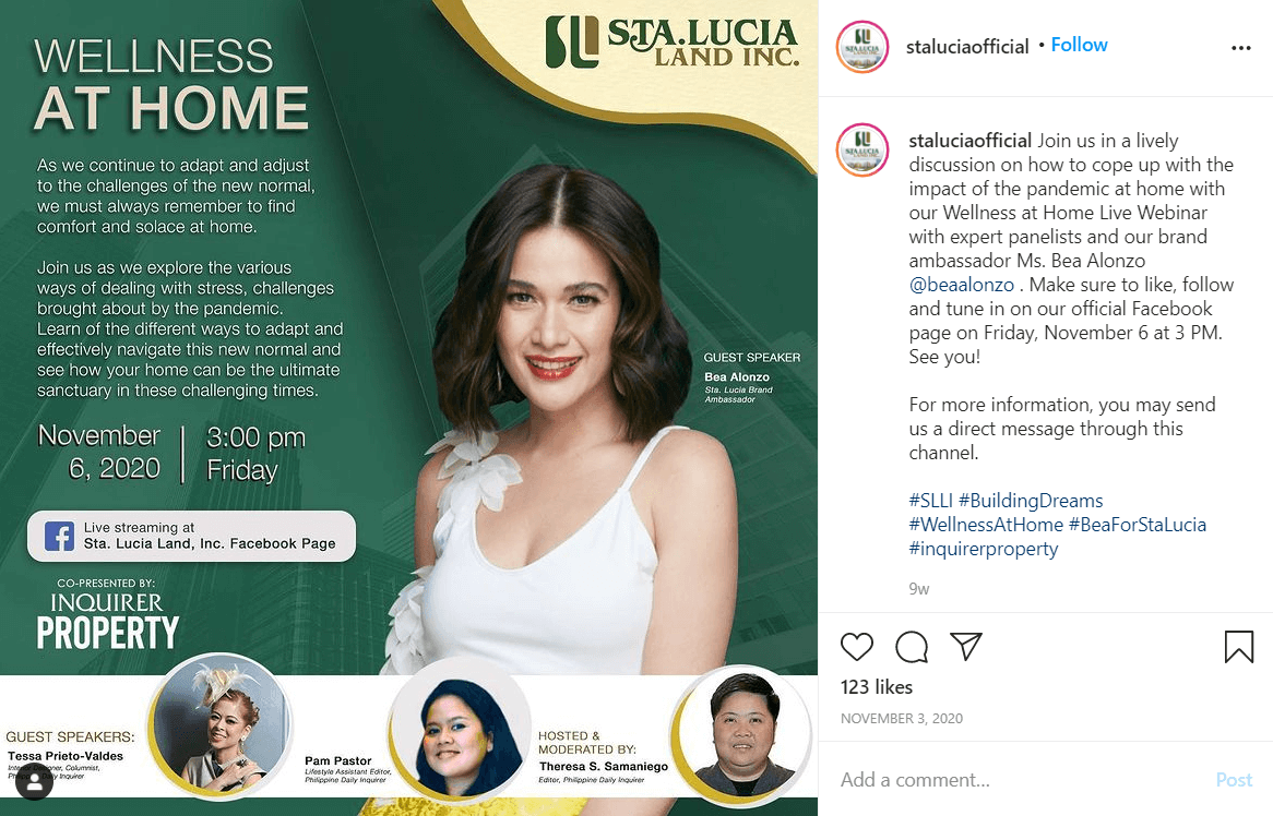 influencer speaking engagement example