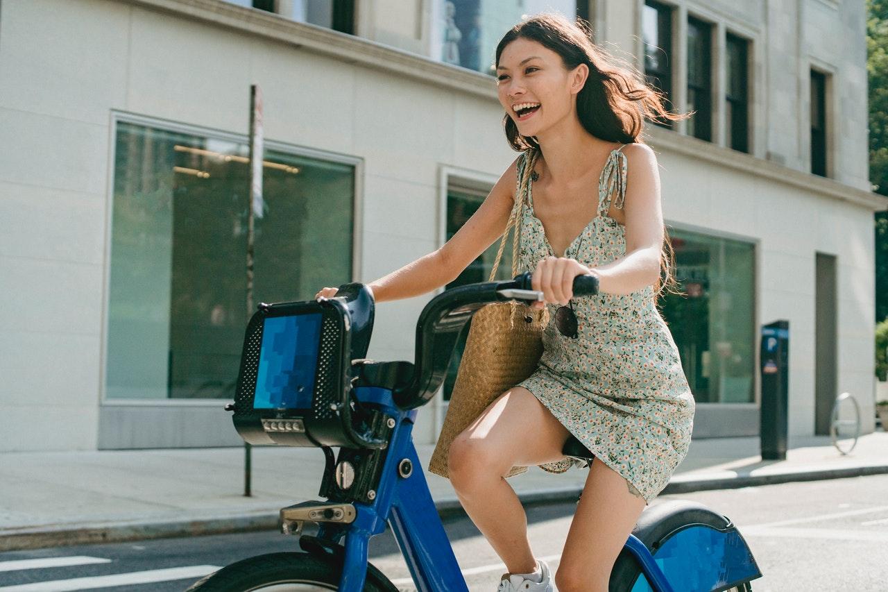 ride a bike to save money