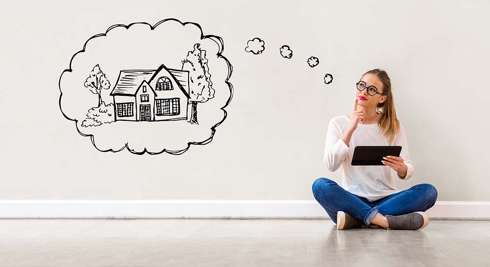 check your long term goals to see whether to buy or rent a house