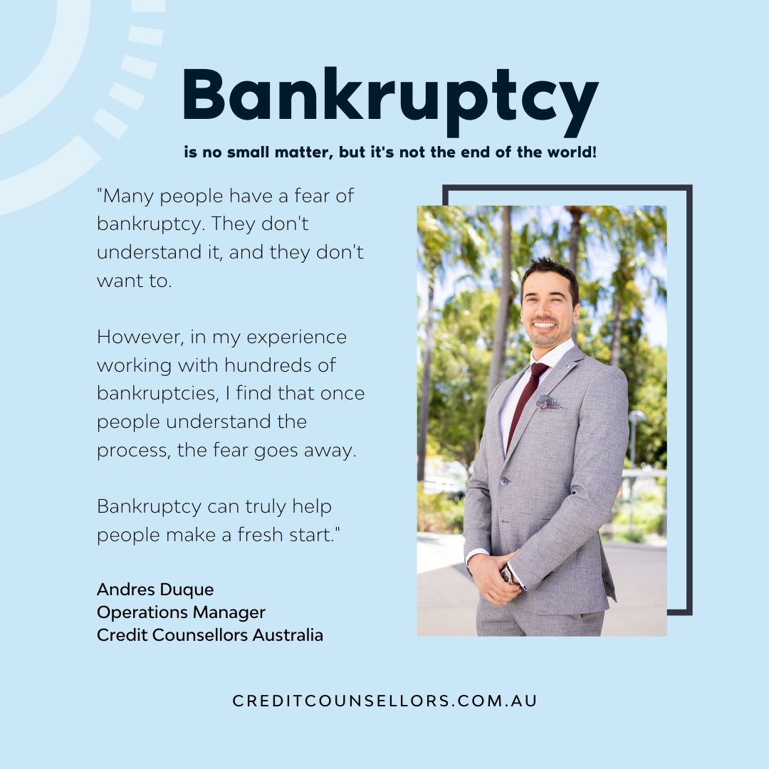 Andres Duque, personal insolvency expert explains: What is bankruptcy?