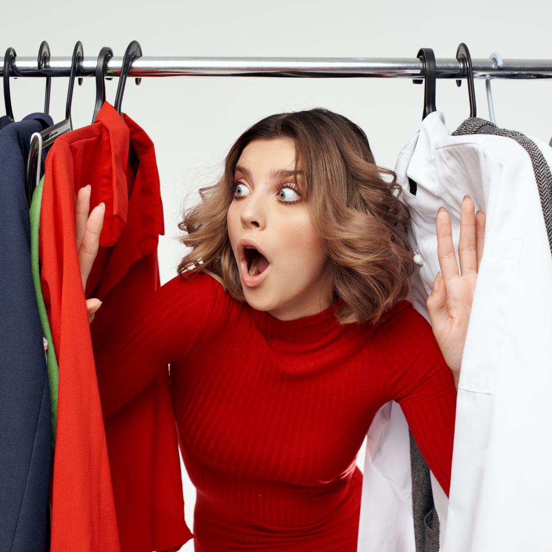 Buying Clothes Causing Financial Problems