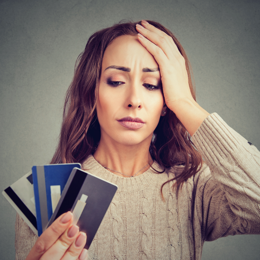 Maxed Out Credit Card Causing Financial Difficulties
