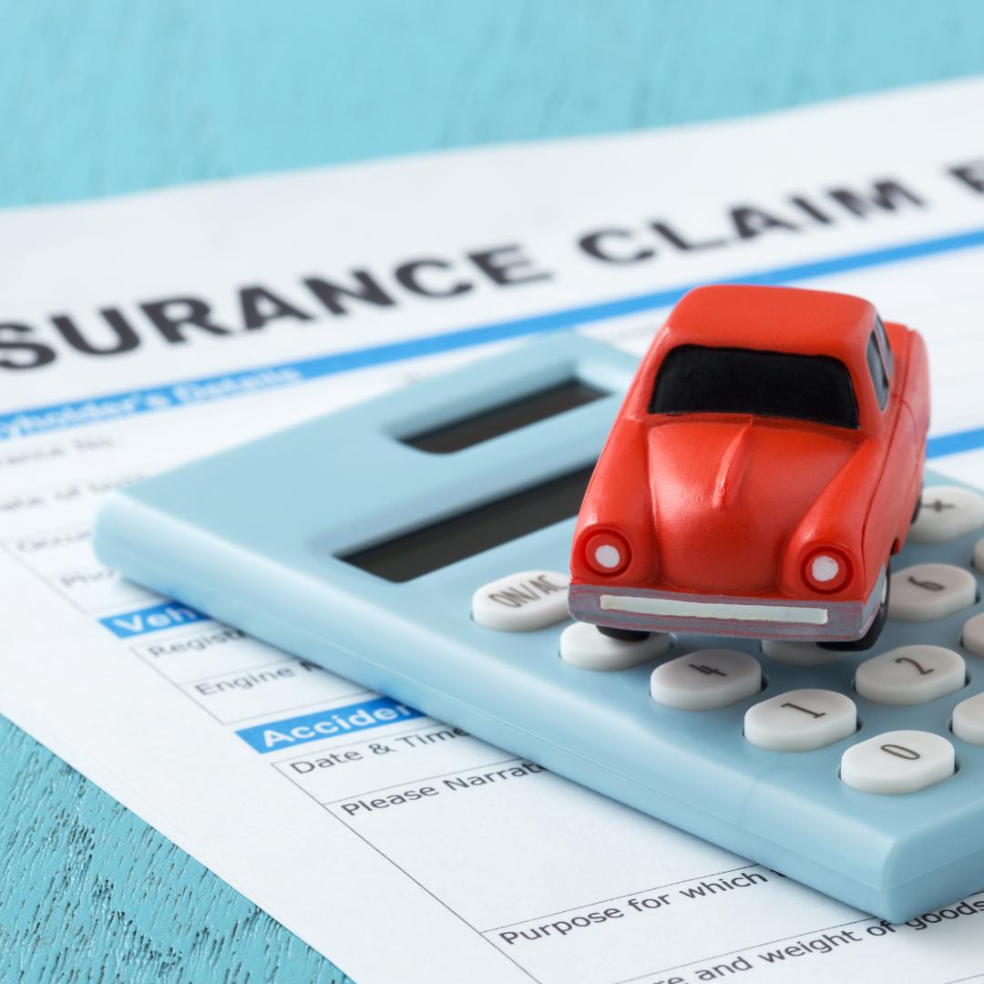 Car Insurance Claim Paperwork and Calculator
