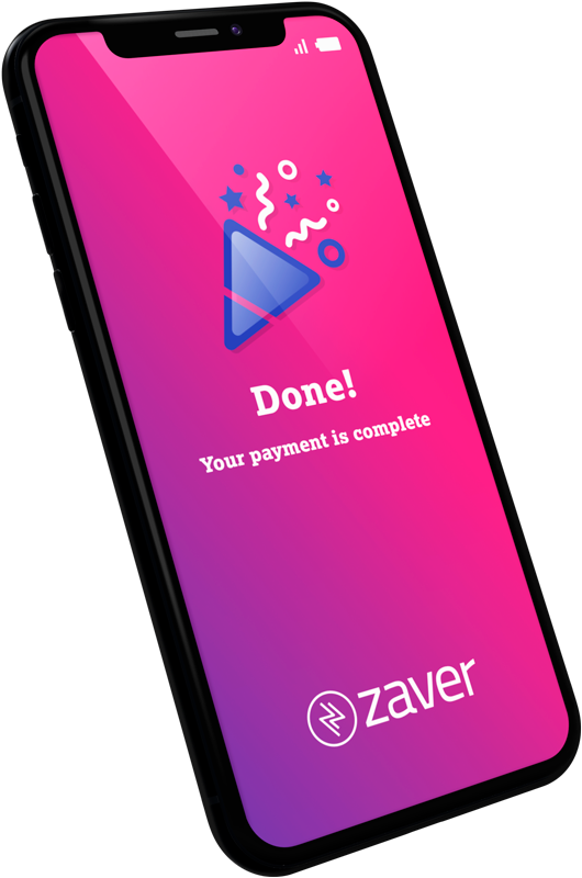 Mobile image showing Zaver Paylink - Finished Payment