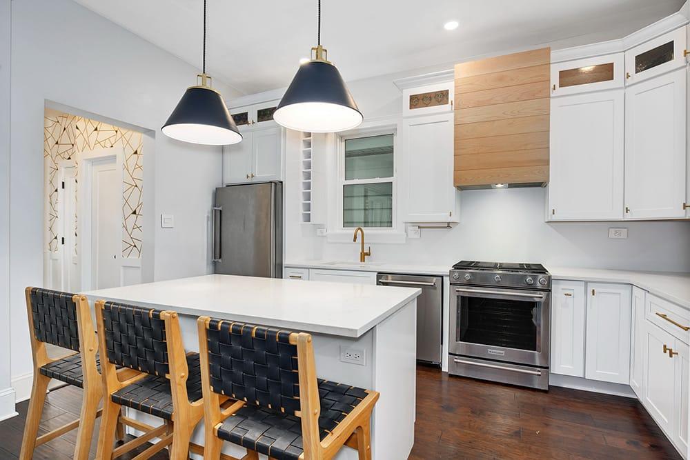 Logan Square Kitchen & Guest Bathroom Remodel