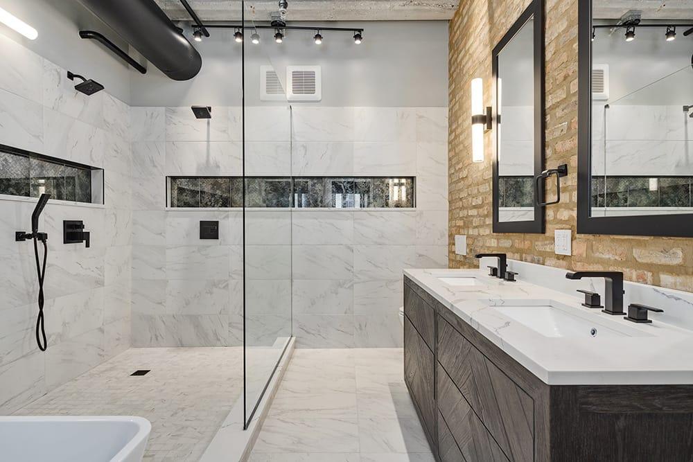 West Loop Master Bathroom Remodel