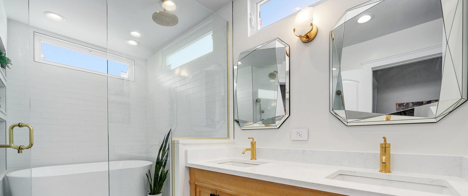 Logan Square Master Bathroom Addition