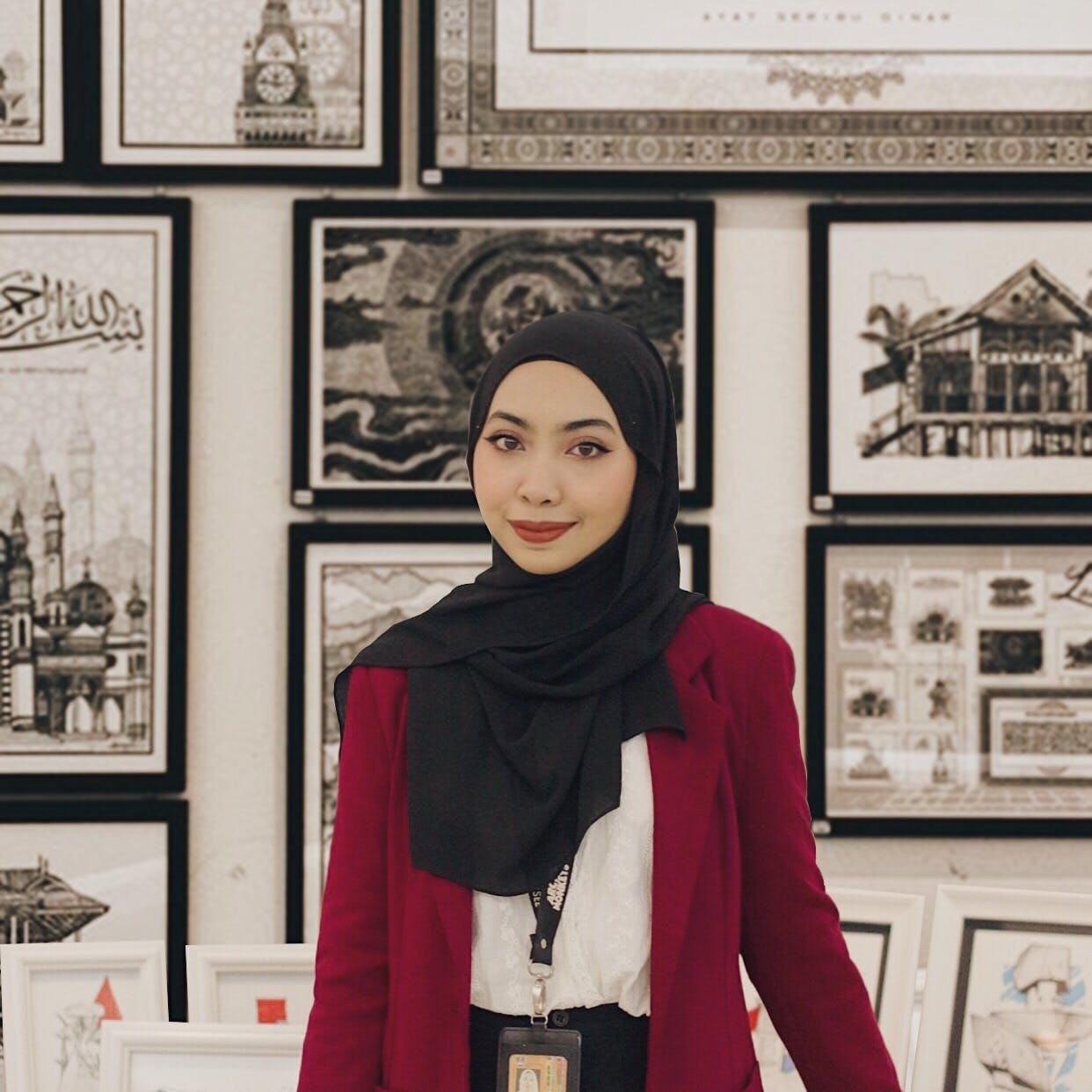Photo of an artist in Malaysia