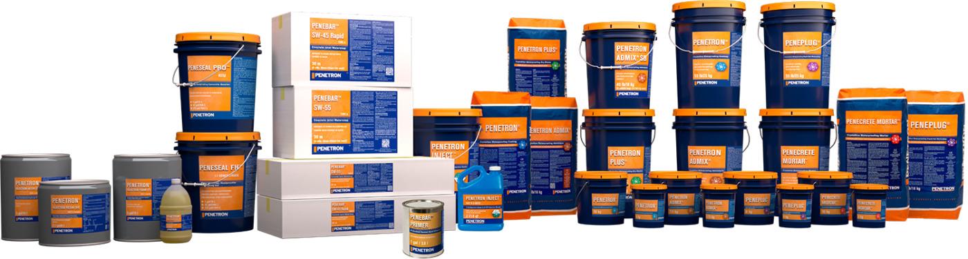 Penetron toodete ja teenusete valik