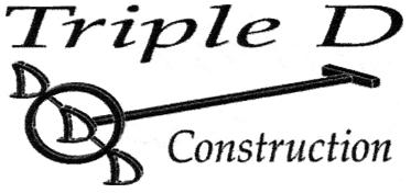 Triple D Construction logo