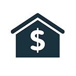 home image with dollar sign