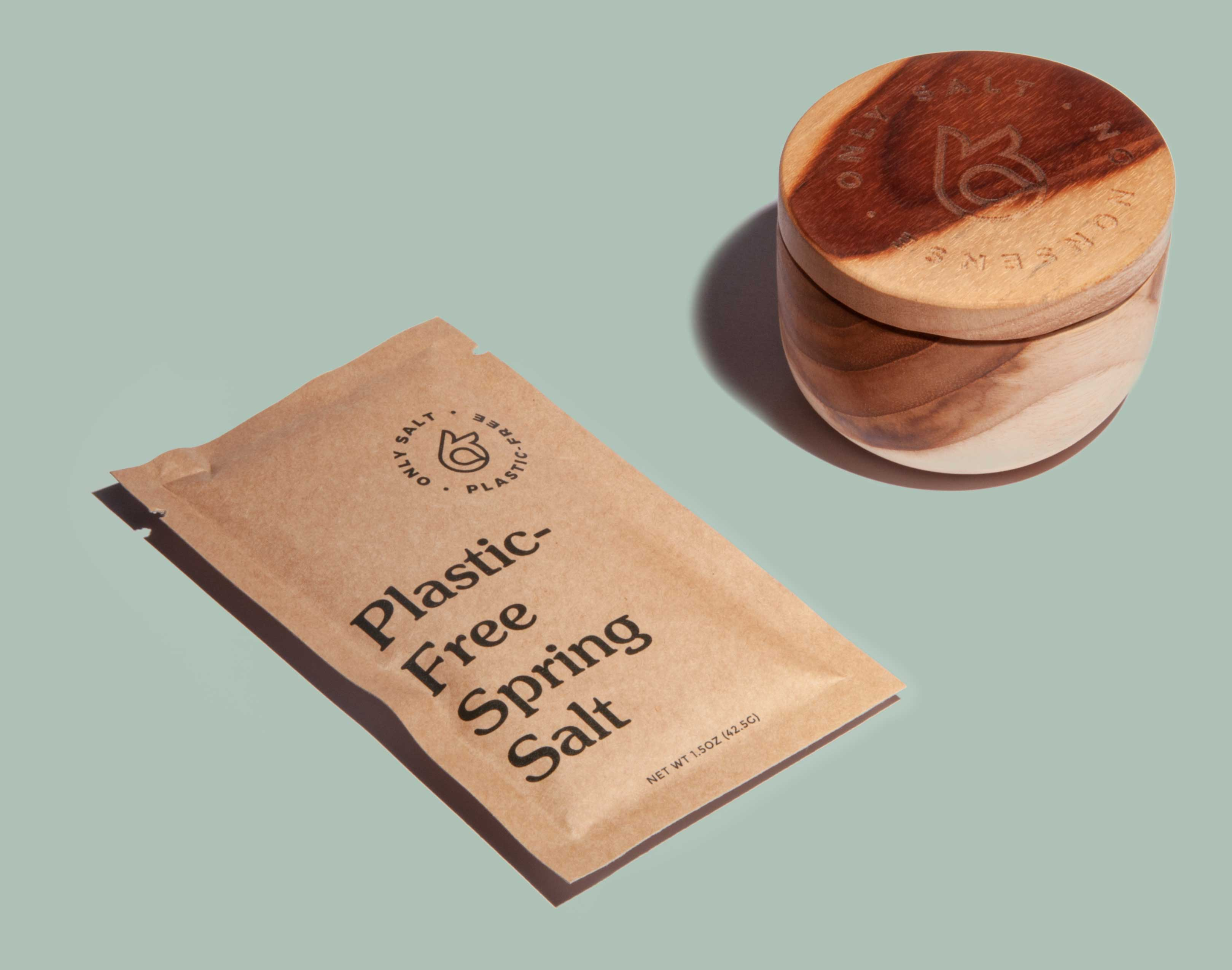 Only Spring Salt Packet and Pinching Bowl Product