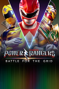 Power Rangers: Battle for the Grid: Cover Screenshot