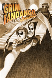 Grim Fandango Remastered: Cover Screenshot