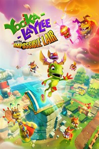 Yooka-Laylee and the Impossible Lair: Cover Screenshot