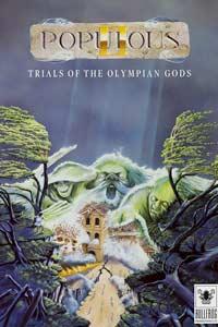 Populous II: Trials of the Olympian Gods: Cover Screenshot