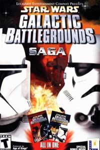 Star Wars Galactic Battlegrounds Saga: Cover Screenshot