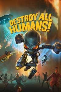 Destroy All Humans!: Cover Screenshot