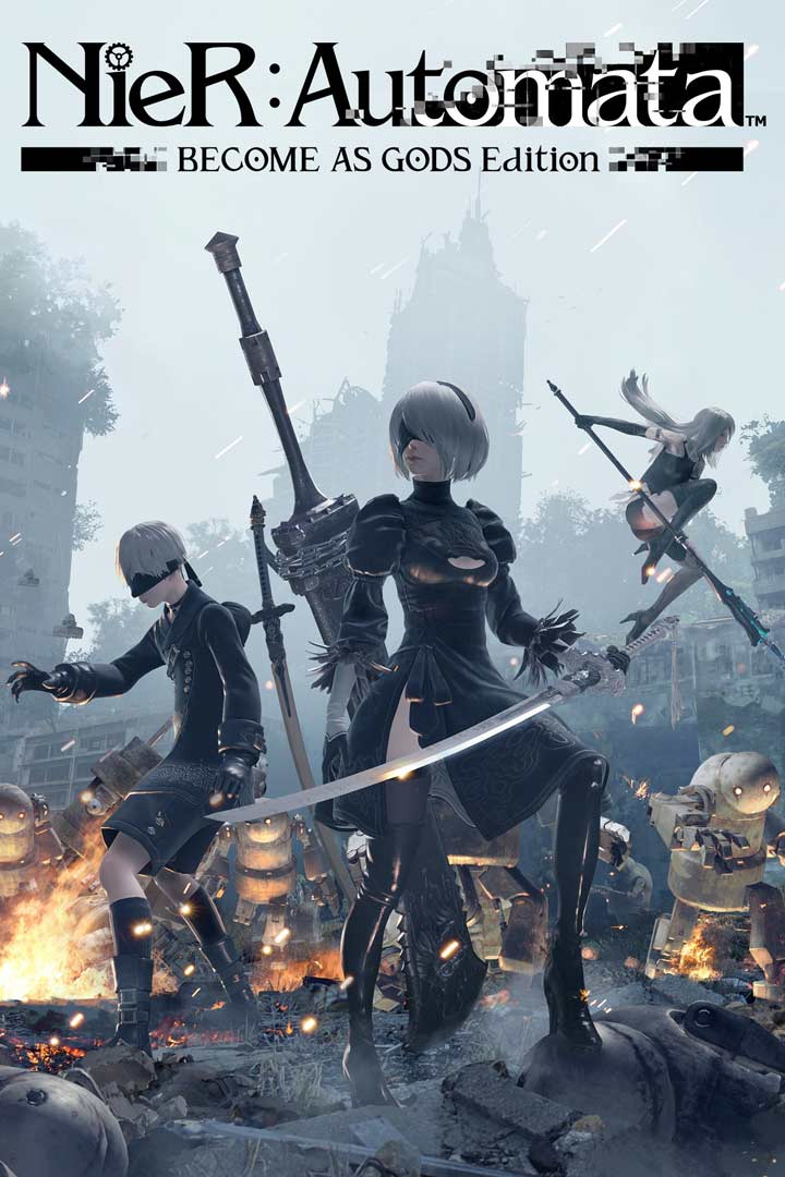 NieR:Automata Become As Gods Edition: Cover Screenshot