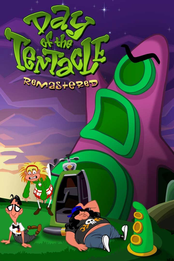Day of the Tentacle Remastered: Cover Screenshot